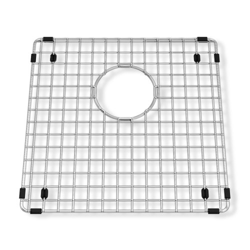 American Standard 791565-205070A Prevoir Square Bottom Grid 14.25-Inch x 14.25-Inch Kitchen Sink Rack, Stainless Steel