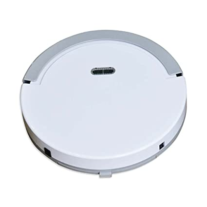 J&A Robot Aspirador, Ultrafino 5cm Robot Sweeper Completamente Automático con Control Remoto, Bueno para