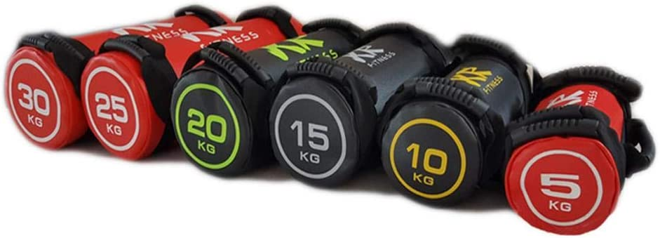 Chirsemey Gewichtssack Sandbag Fitness Training Fitnessbag Powerbag Gewicht Sandsack 5//10//15//20//25 Gewicht Gef/üllt Sand Power Bag Workouts Farbe Zuf/ällig masterwork