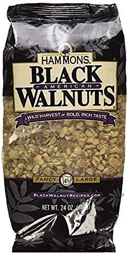 Hammons American Black Walnuts,24 Oz each (Pack of 2)