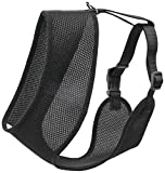 Coastal Pet Products DCP6913MEDBLK Nylon Comfort Soft Adjustable Dog Harness, Medium, Black