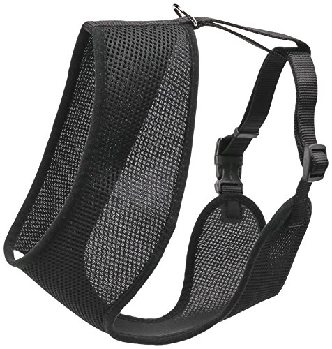 Coastal Pet Products DCP6913MEDBLK Nylon Comfort Soft Adjustable Dog Harness, Medium, Black by Coastal Pet
