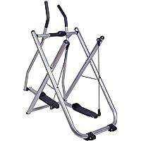 Fitness Glider Exercise Machine Elliptical Sports Trainer - Foldable Non Skid Platform