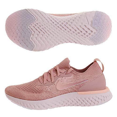 Rust WMNS Sneakers tropic Top Flyknit Tint Epic Pink React Women's Nike Low Pink nH85wAxgfq