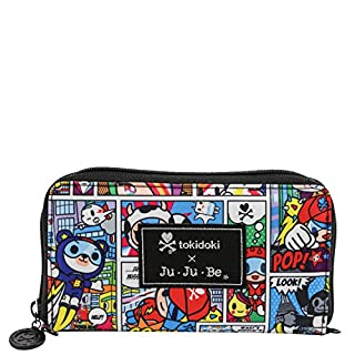JuJuBe Be Spendy Zippered Wallet, Tokidoki Collection - Super Toki