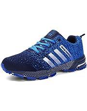 separation shoes 5a703 20cfd SOLLOMENSI Zapatillas Deporte para Mujer Deportivas Running Montaña y  Asfalto Zapatos para Correr Gimnasio Sneakers Padel