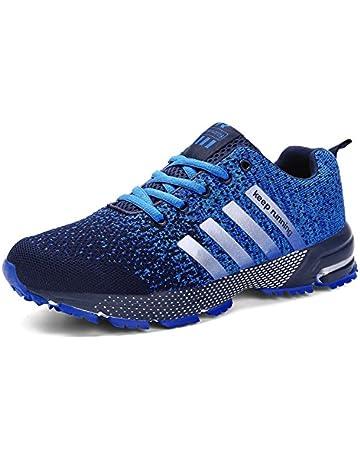 separation shoes d2919 e3ecf SOLLOMENSI Zapatillas Deporte para Mujer Deportivas Running Montaña y  Asfalto Zapatos para Correr Gimnasio Sneakers Padel