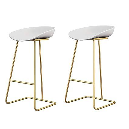 Miraculous Amazon Com Nubao Bar Stool Iron Bar Chair Restaurant Short Links Chair Design For Home Short Linksinfo