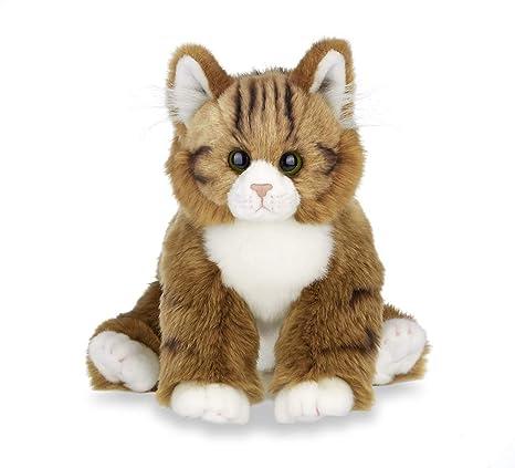 Bearington Collection Manny Plush Stuffed Animal Orange Tabby Maine Coon  Cat, Kitten 15 inches