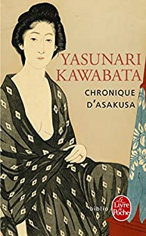 Chronique d'Asakusa par Kawabata