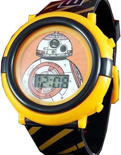 Star Wars Kid's BB8 Digital Light Up Watch SWM3005
