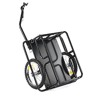Ikaaya Remolque carrito de 40 kg 7