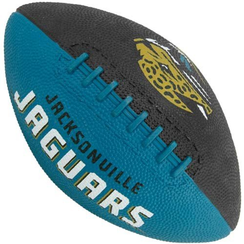 Rawlings NFL Jacksonville Jaguars Youth Teal-Black Hail Mary Rubber Football