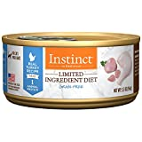 Nature's Variety Instinct Limited Ingredient Diet Grain-Free Turkey Formula Canned Cat Food, 5.5 oz. Cans (Case of 12)