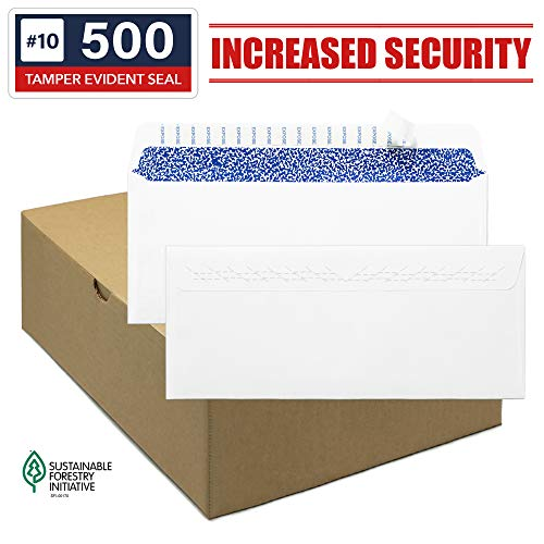 Amazon.com: 10 sobres de seguridad, tamper evidente ...