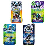 Skylanders SWAP Force & Super Chargers Character Bundle Pack (4): Freeze Blade, Trap Shadow, Nightfall, and Hex