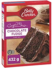 Betty Crocker Supermoist Cake Mix Chocolate Fudge 432 Gram
