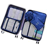 OEE 6 pcs Luggage Packing Organizers Packing Cubes