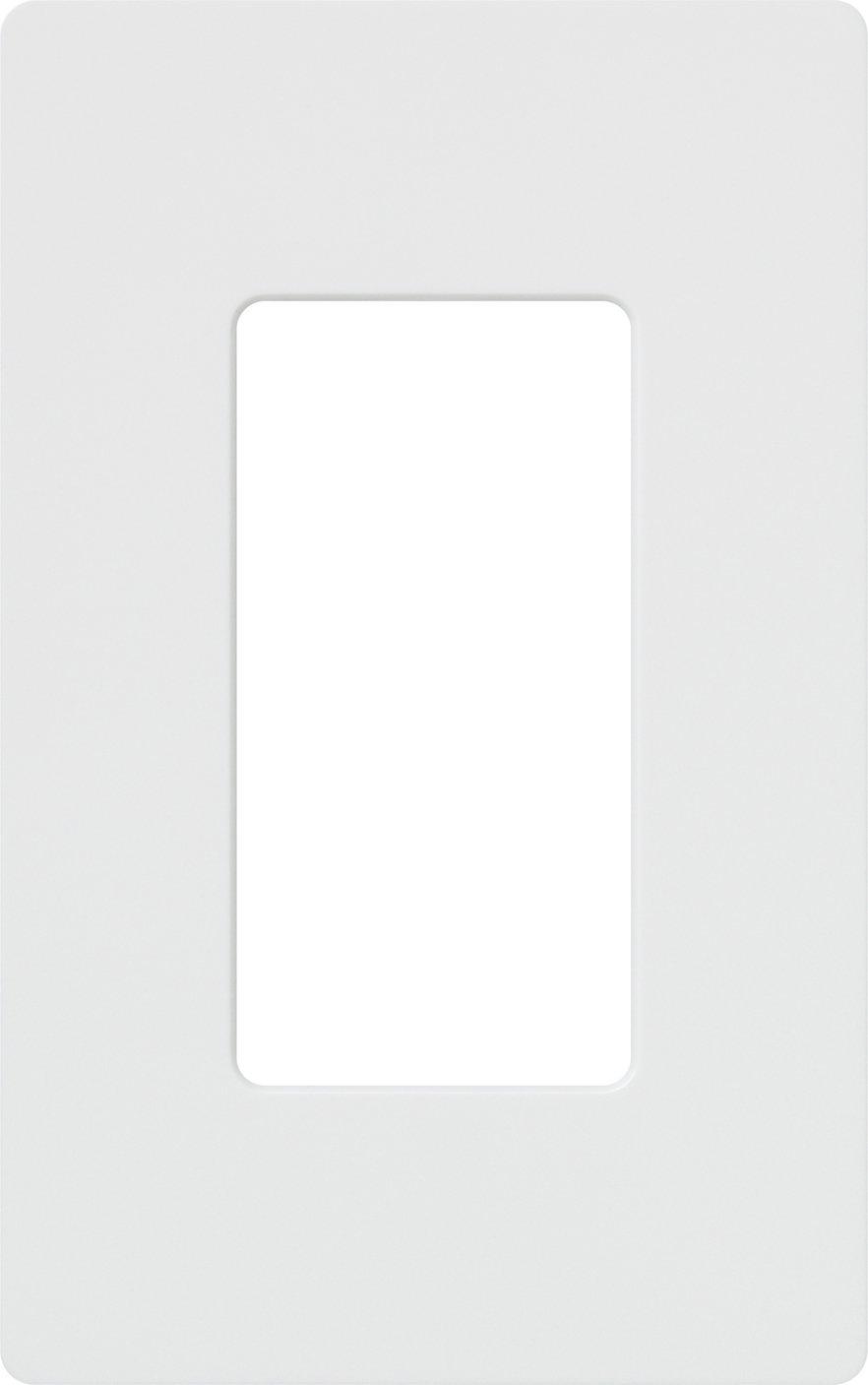 Lutron CW-1-WH-96 Claro 1-Gang Wallplate (96 Pack), White by Lutron B000MAXBOU