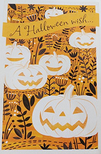 A Halloween Wish to Someone Who Always Puts a Smile On My Face! Greeting Card