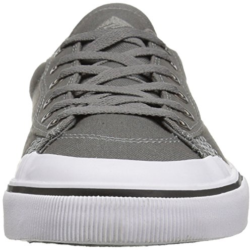 Emerica Indicator Low, Color: Grey/White, Size: 39 Eu / 7 Us / 6 Uk