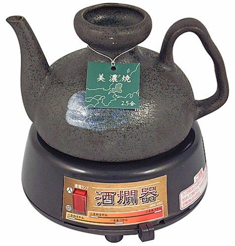 Electric Sake Warmer Genuine Mino Ware Minoyaki image
