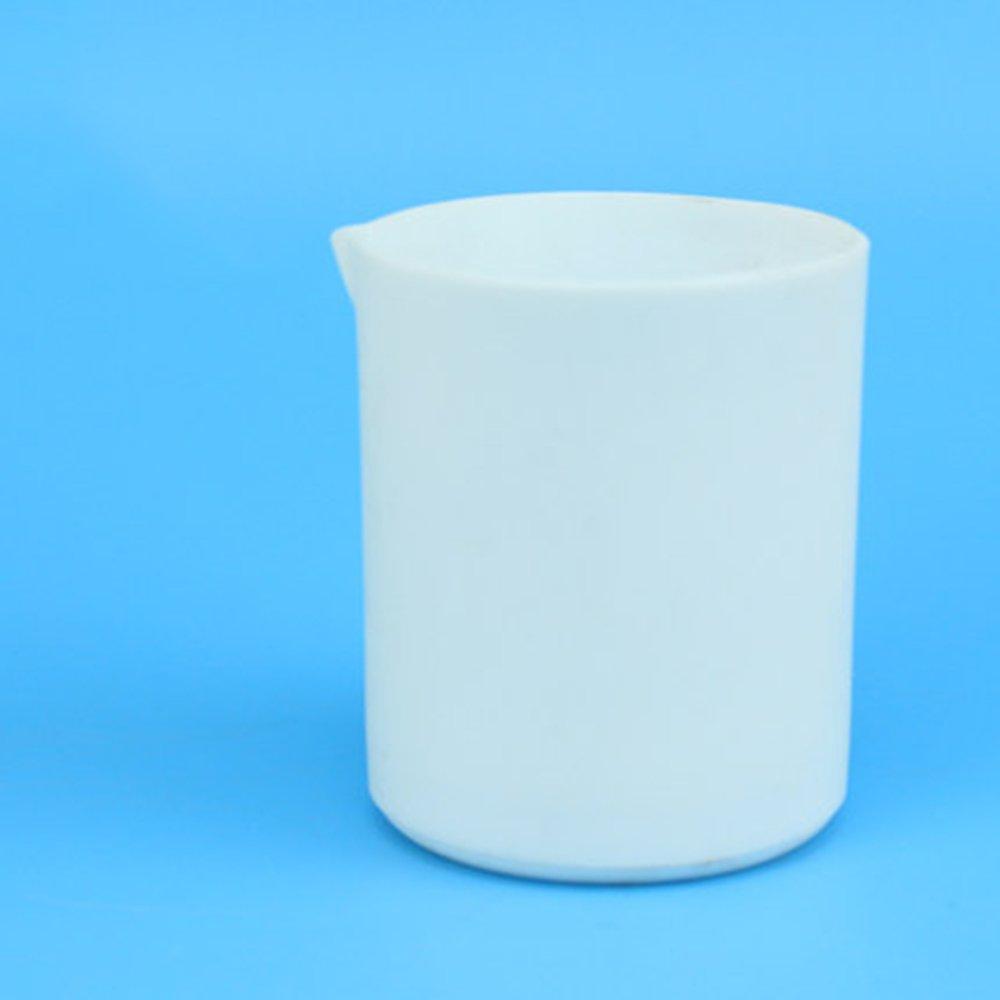 ZGUO Teflon Beaker PTFE Cylinder F4 Teflon 30 Container(300ml)