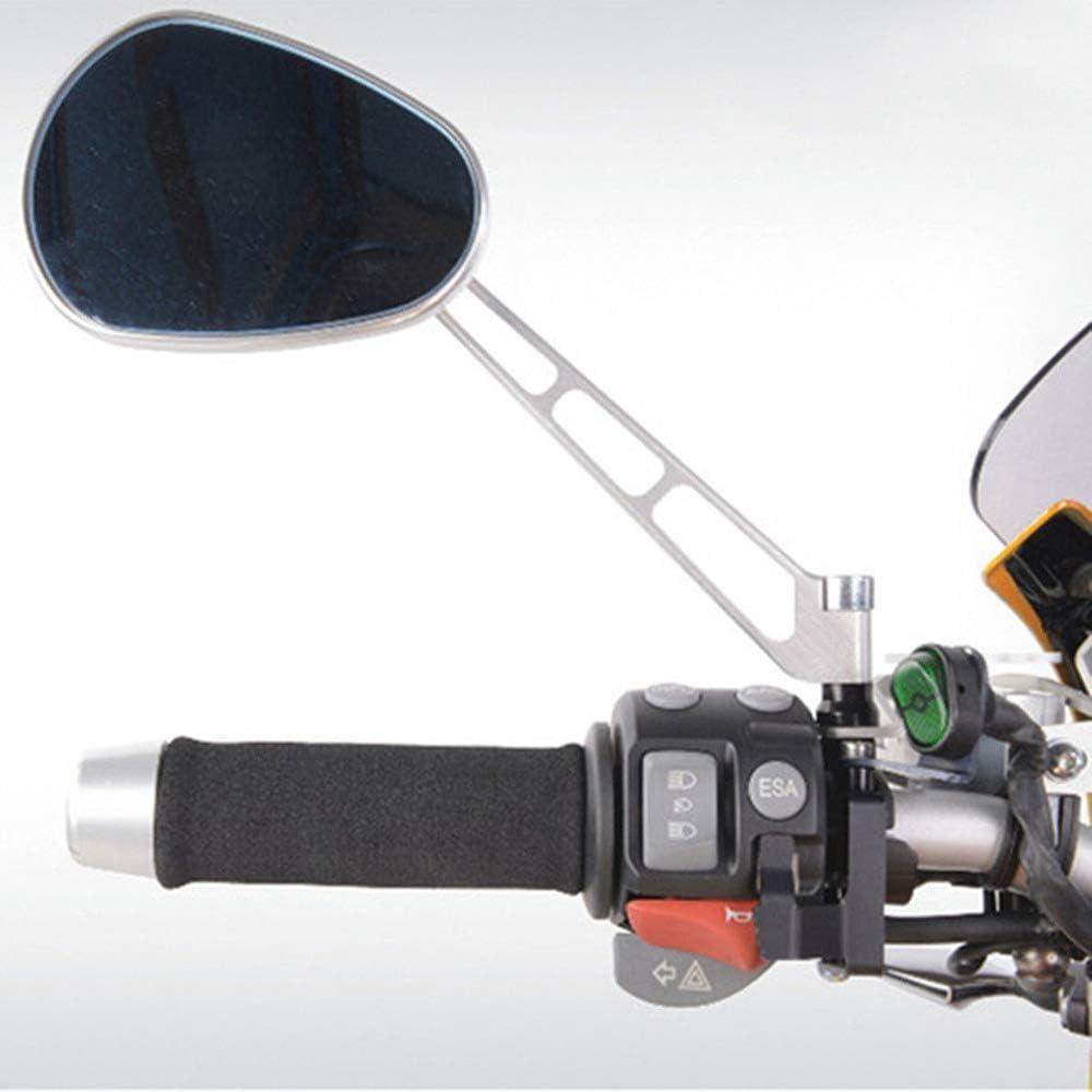 LQNB Moto Motocicleta Slip-On Espuma Antivibraci/ón Comfort Manillar Grip Cover