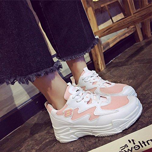 GAOLIM Zapatos De Mujer Actual Campaña En La Primavera De Virtudes Viejos Zapatos Para Correr Rosa