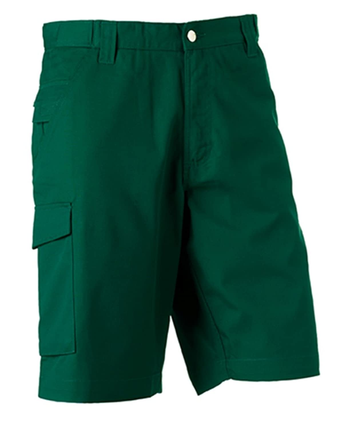 Russell Workwear Work Shorts : Color - Bottle : Size - 38