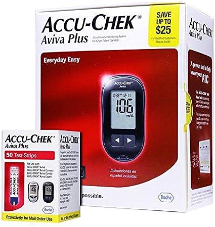 máquina de diabetes accu chek sin sangre