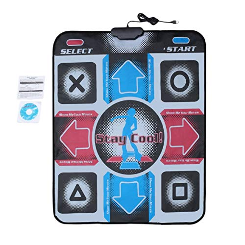 Price comparison product image Pandamama Non-Slip Durable Wear-Resistant Dancing Step Dance Mat Pad Pads Dancer Blanket to PC with USB for Bodybuilding Fitness