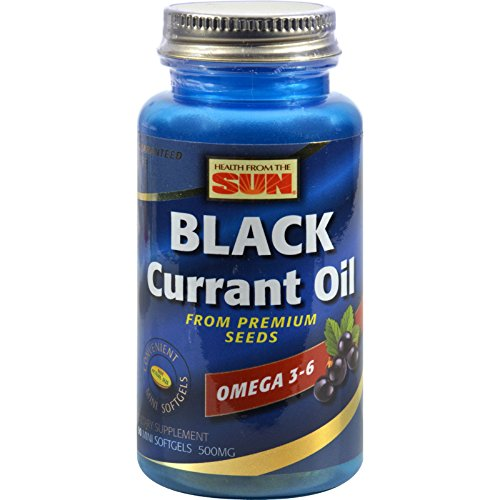 2Pack! Health From the Sun Black Currant 500 - 90 Softgels by Botanical Oils