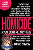 Homicide, David Simon, 0449908089