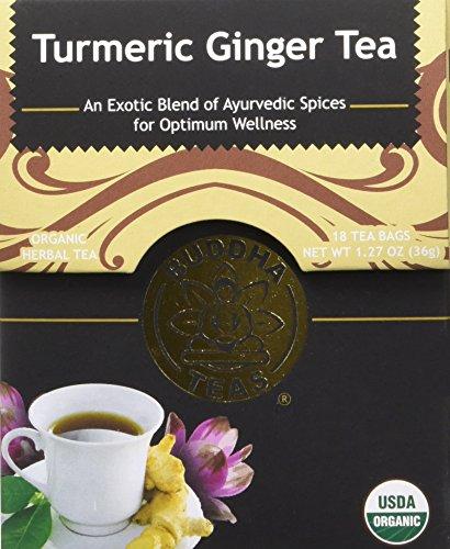 Organic Turmeric Ginger Tea Caffeine Free