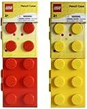 LEGO Caja de Lápiz,  Surtido, Color Rojo/Amarillo/Azul/Verde