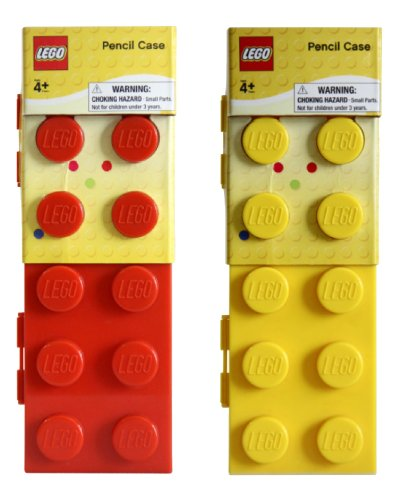 LEGO® Assorted Pencil Case  - Red/Yellow/Blue/Green