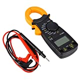 DT-3266L Digital Amper Clamp Meter Multimeter Current Clamp Pincers Voltmeter Ammeter