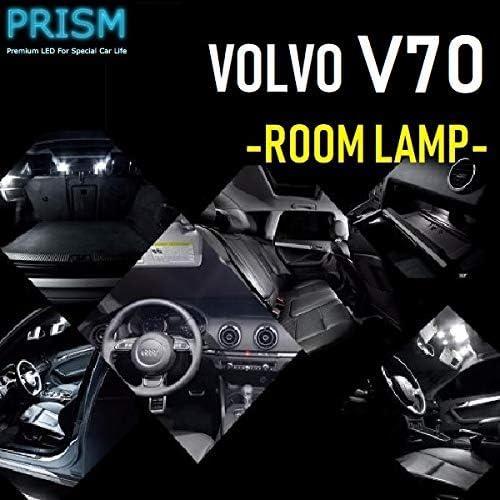 VOLVO ボルボ V70 LED 室内灯 ルームランプ 前期対応 10カ所 キャンセラー内蔵 6000K