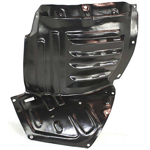 Splash Shield Front Left Side Fender Liner Plastic Front Section Coupe for RX-8 04-08
