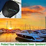 """2 (Two) 8"""" Marine Boat Protective Speaker Covers"""