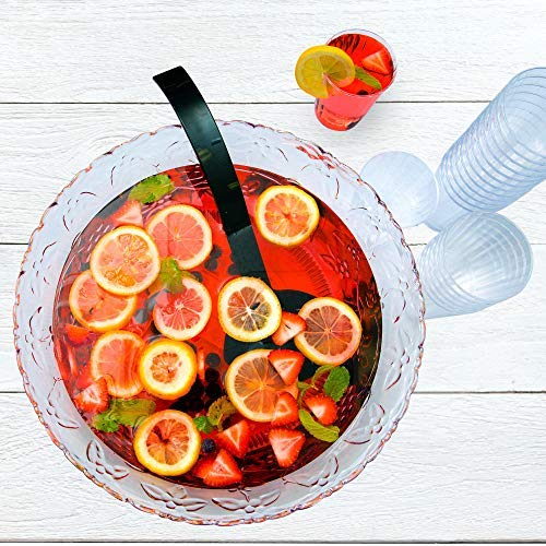 Chefible Durable Punch Bowls, Elegant, Resilient and Professional - Set of 2 by Chefible® (Image #2)