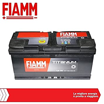 Fiamm Car Battery Item Code L6110 Titanium 110 Ah 950A