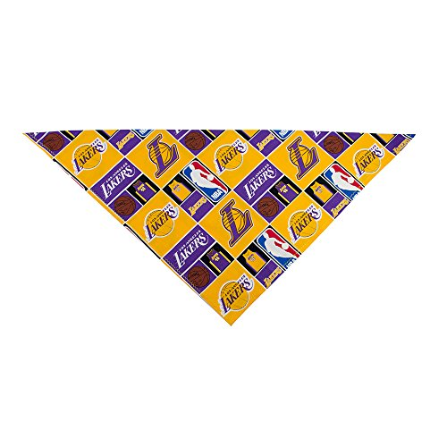 LA Lakers Bandana (Mens/Womens) by Precious Paw Prints Boutique