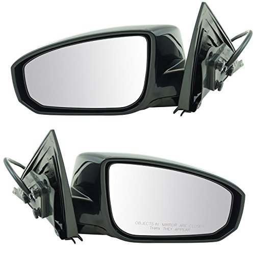 (Power Heated Side View Mirrors Left & Right Pair Set for 04-08 Nissan Maxima)