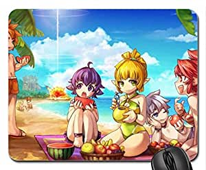 Summer Grand Chase Mouse Pad, Mousepad (10.2 x 8.3 x 0.12 inches)
