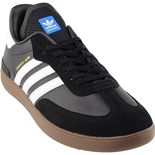 9ff332f82c2d5a Adidas Men s Samba Adv Black   White Gum Ankle-High Skateboarding Shoe - 8M