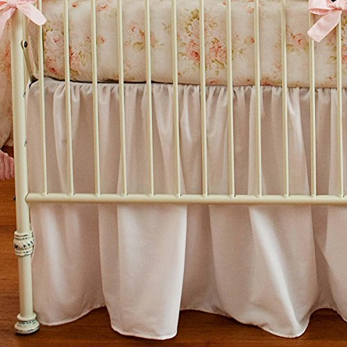 Carousel Shabby Chenille 2-Piece Crib Bedding Set