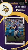 Minnesota Vikings 2017 Donruss Factory Sealed Team Set with Randy Moss, Sam Bradford, Dalvin Cook Rookie Card plus