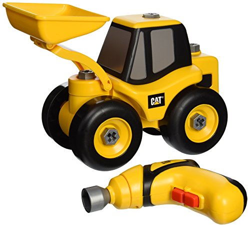 Toysmith Caterpillar Take Wheel Loader